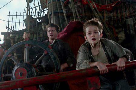 Кадр из фильма Пэн: Путешествие в Нетландию