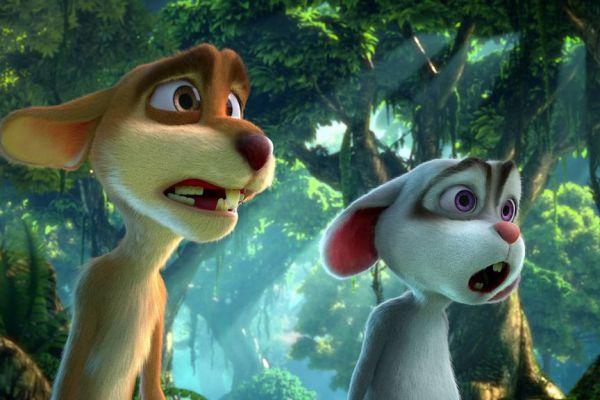 Кадр из фильма Золушка и заколдованный принц