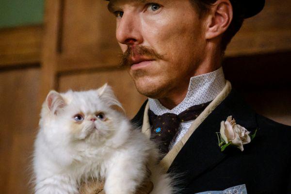 Кадр из фильма Кошачьи миры Луиса Уэйна