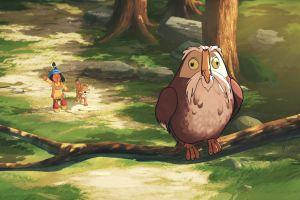 Кадр из фильма Литл Гром